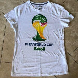 Adidas women's FIFA World Cup Brazil T-shirt